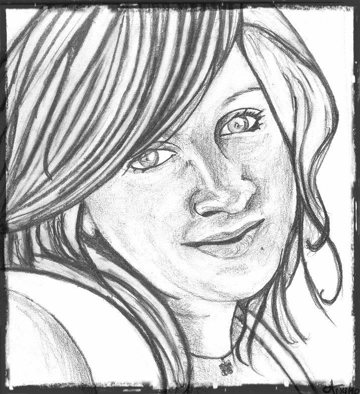 autoportrait Adeline